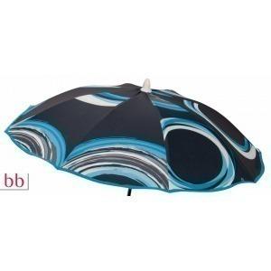 Sombrilla silla  Anillos Azul