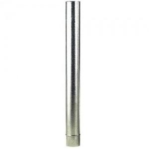Tubo Estufa Galvanizado 200 mm. (0,8 mm.)