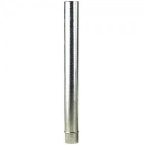 Tubo Estufa Galvanizado 250 mm. (0,8 mm.)