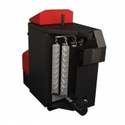 Caldera policombustible Attack Automatic Plus 30 kW