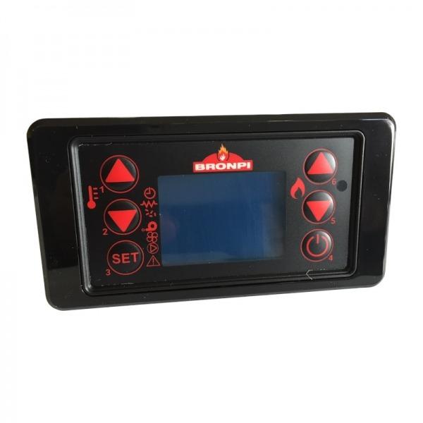 Panel de mandos Bronpi cuadrado 6 botones