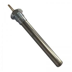 Resistencia de encendido 400W Ø16 x 140 mm con rosca 1/2
