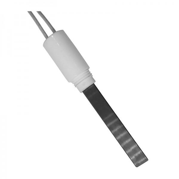 Resistencia de encendido de cuarzo 350W Ø10,8x4 x 68 mm con rosca 3/8 (Versión hermética)