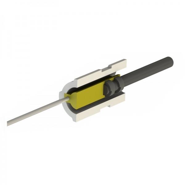Resistencia de encendido a baja tensión 24VAC 95W Ø20 x 65 mm