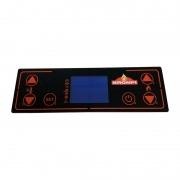 Panel de mandos Bronpi táctil 6 botones Blu color