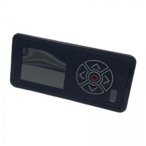Panel de mandos negro