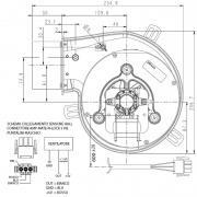 Extractor de humos Natalini PL21 CE0260 - W931210260