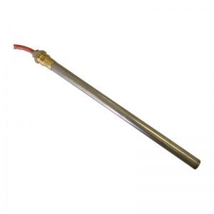 Resistencia de encendido 300W Ø9,5 x 207 mm con rosca 3/8