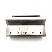 Brasero de acero inoxidable refractario Ecoforest Hidrocooper