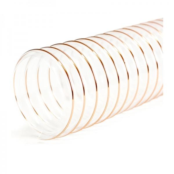 Tubo flexible de alimentación para calderas pellets