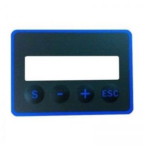 Panel de mandos autoadhesivo caldera de pellets Attack