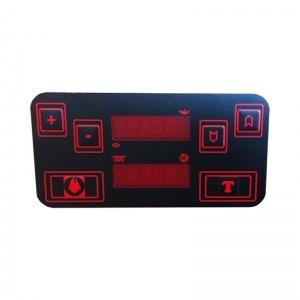 Panel de mandos caldera de pellets Biodom