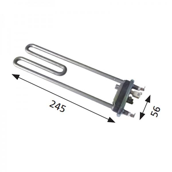 Resistencia lavadora BALAY / Bosch / FAGOR 1.950W 230V