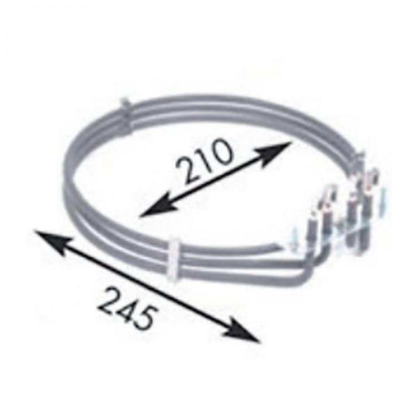 Resistencia horno CROMOPLANCHA 2 x 1.330W 230V