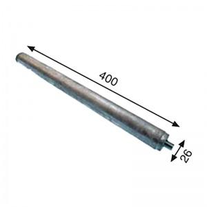 Anodo para termo eléctrico GENERICO 26 x 400 mm