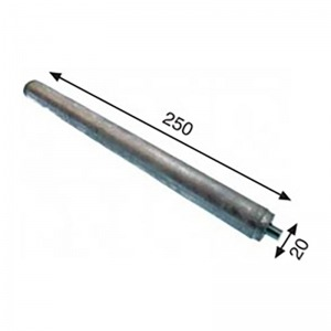 Anodo para termo eléctrico GENERICO 20 x 250 mm