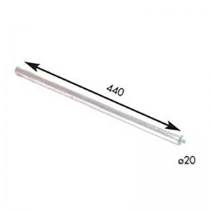 Anodo para termo eléctrico GENERICO 20 x 440 mm