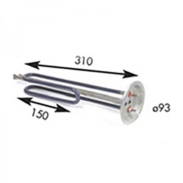 Resistencia termo eléctrico TEKA 1.500W 230V
