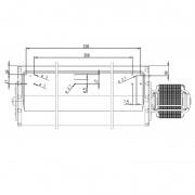 Ventilador tangencial para ECO I y II