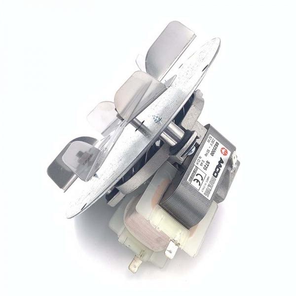 Motor extractor de humos Ecoforest versión 2011