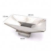 Brasero de acero inoxidable refractario Ecoforest Cíes