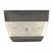 Brasero de acero inoxidable refractario Ecoforest VIGO