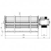 Ventilador tangencial TRIAL THS30B5-033