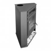 Estufa de leña Juan Panadero R5 HORNO 8 kW