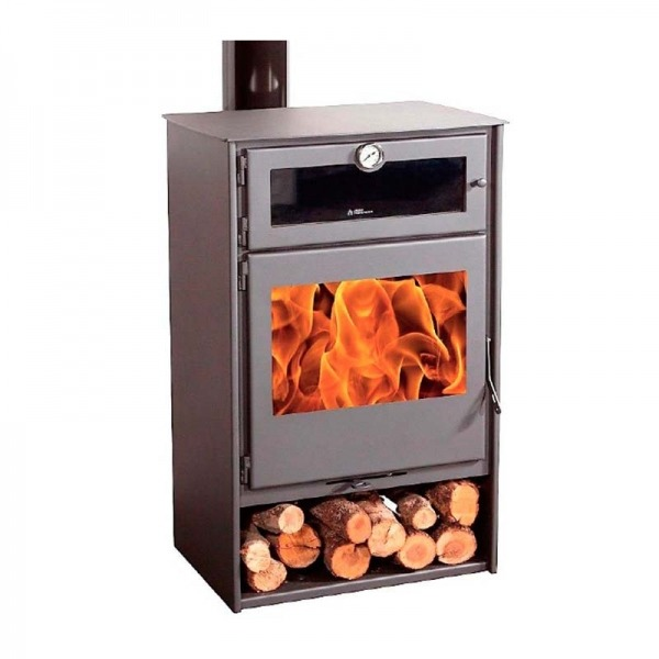 Estufa de leña Juan Panadero NICE 8 kW