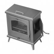 Estufa de leña Juan Panadero C3 HORNO PLUS 8 kW