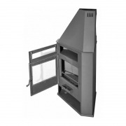 Estufa de leña Juan Panadero R8 HORNO 8 kW