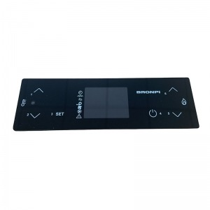 Panel de mandos Bronpi táctil 6 botones Black Screen