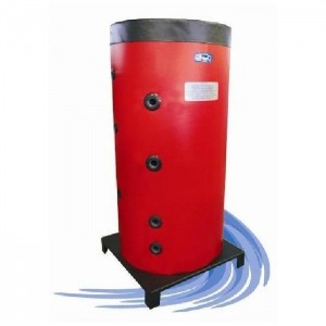 Depósito de inercia Attack HRS con ACS y solar desde 600 hasta 2000 litros