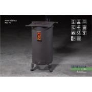 Estufa de leña Juan Panadero Rústica 7,5 kW
