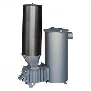 Estufa policombustible 15 kW carga superior