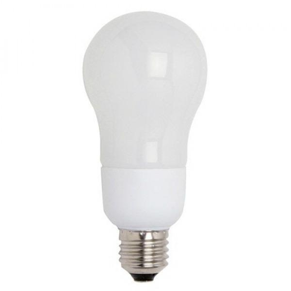 Bombilla Ahorro Standard Fluorescente E27 15 W. = 75 W. Luz Calida
