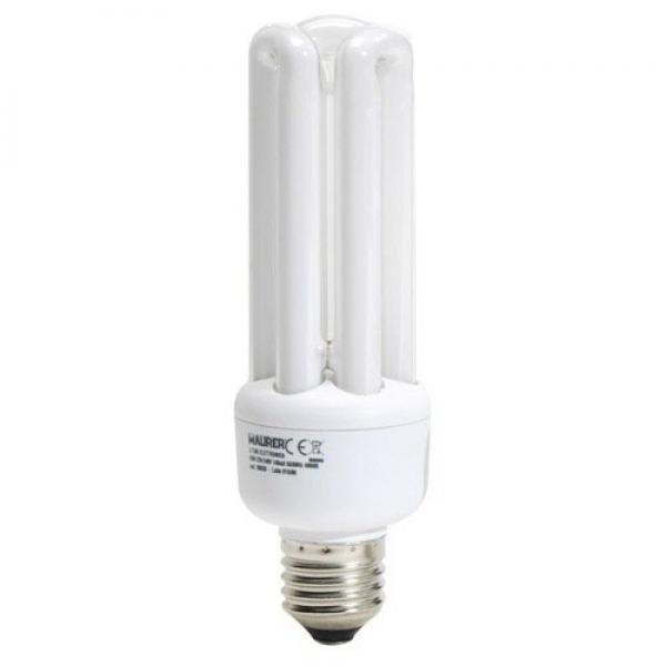 Bombilla Ahorro Fluorescente 3T / E27 25 W. = 120 W. Luz Blanca