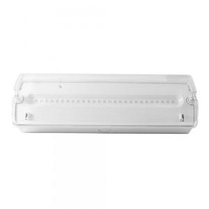 Lampara De Emergencia Led Ip65 1,8 W. Luz blanca (6500º K) 110 Lumenes