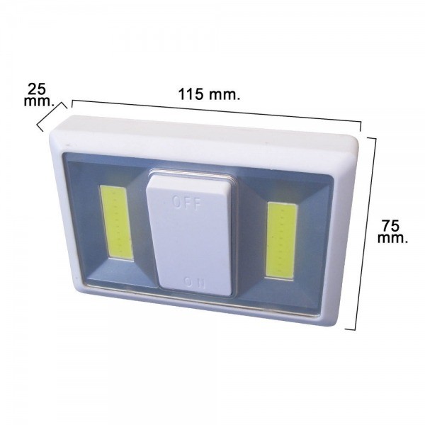 Luz Led Para Pared Con Interruptor