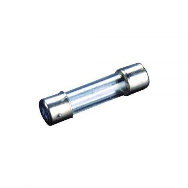 Fusible Cristal Ø 5 x 20 mm. /  2 A. (Caja 100 piezas)
