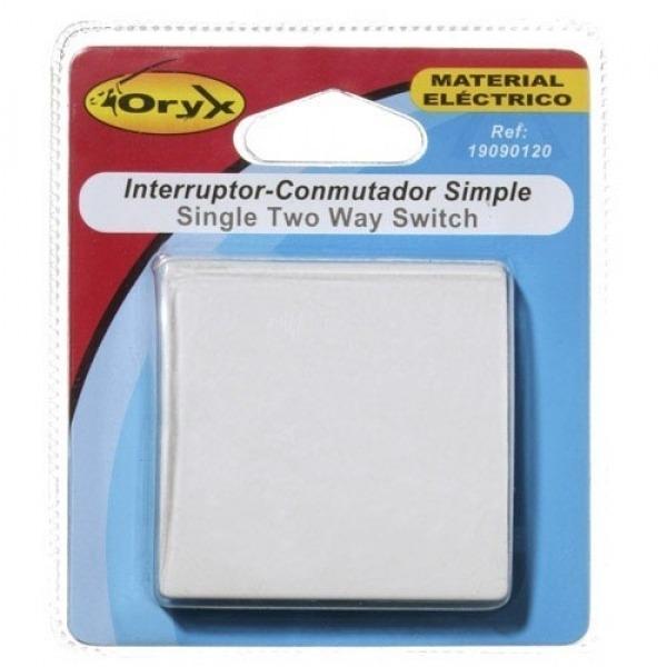 Interruptor / Conmutador Oryx Simple (Mecanismo)