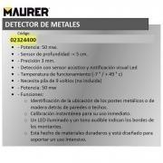 Detector Metales Maurer