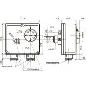 Termostato de inmersión doble IMIT TLSC