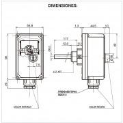 Termostato de inmersión de seguridad IMIT LSC1