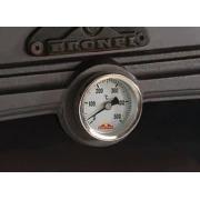 Chimenea de leña Bronpi Ebro 14 kW con horno