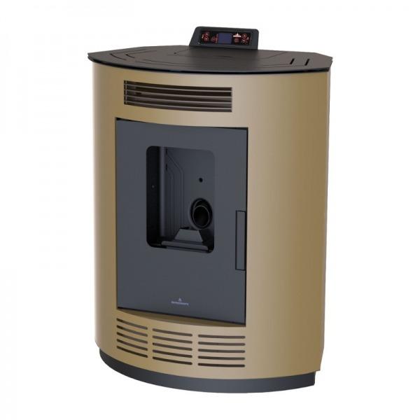 Estufa de pellets de rincón Bronpi NINA 9 kW