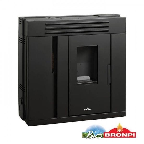 Estufa de pellets extraplana Bronpi ALICIA 9 kW