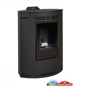 Estufa de pellets de rincón Bronpi PRINCESA 10 kW