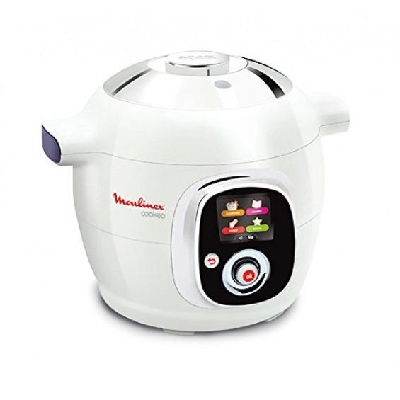 Moulinex Ce704110 Cookeo Vaporera Eléctrica De Cocina 6 L100 Recetas Color Blanco