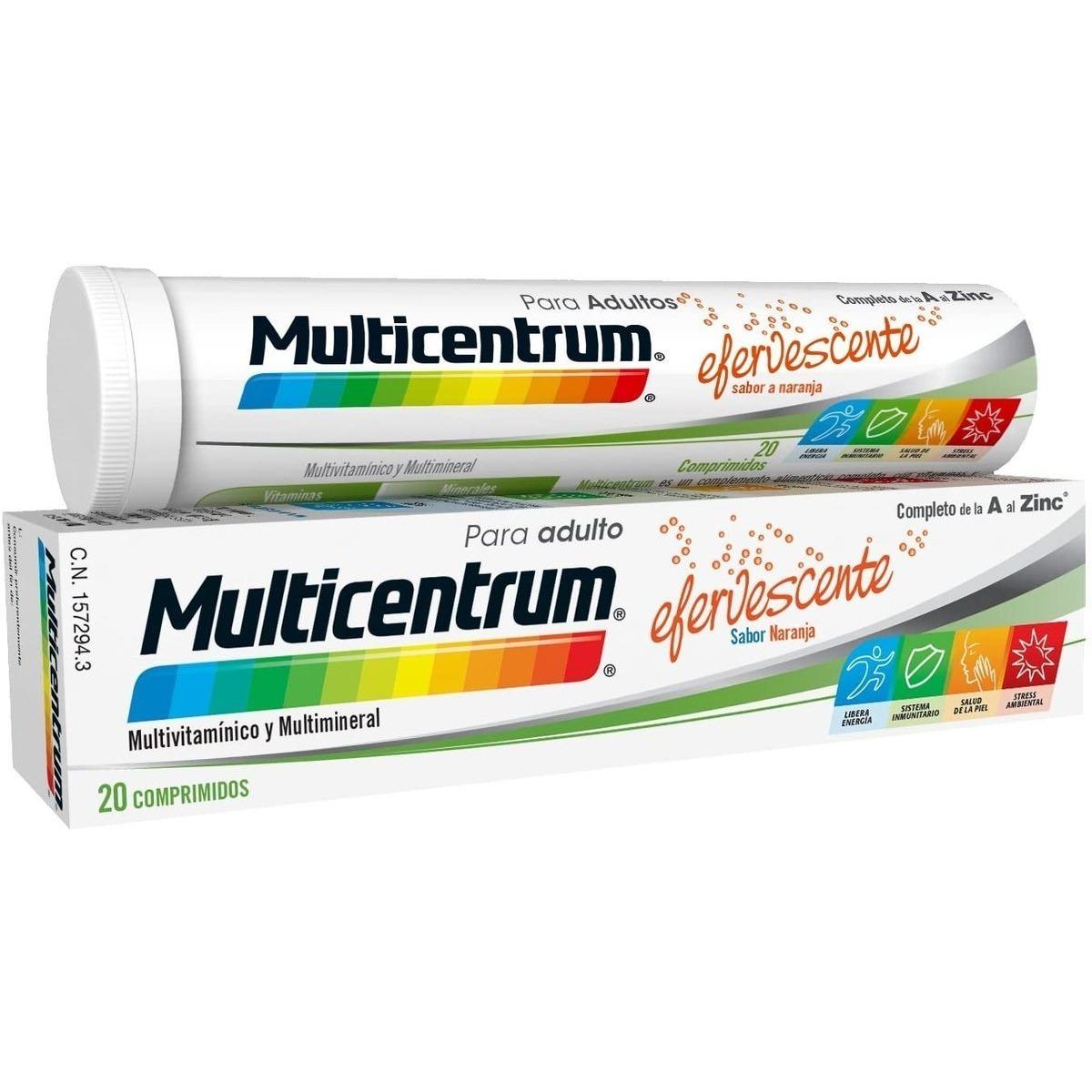 MULTICENTRUM20COMPRIMIDOSEFERVESCENTES I1